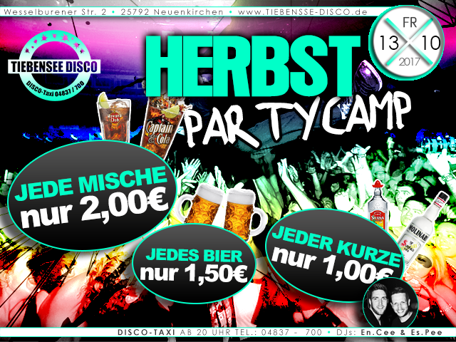 Herbst Party Camp