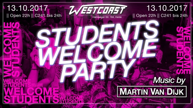 Students Welcome Party!