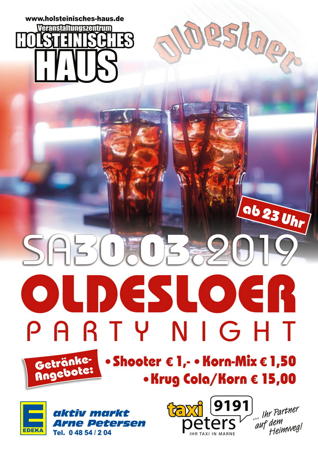 Oldesloer Party Night