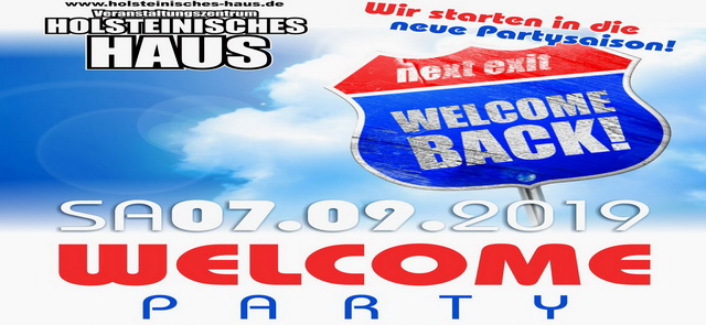 Holst Haus Welcome